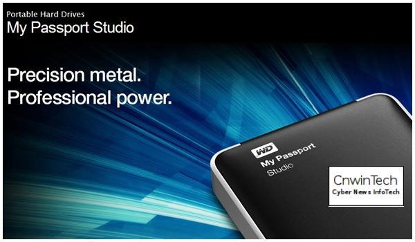 CNWINTECH Western Digital My Passport Studio 2TB Mac 2012 Western Digital Launches My Passport Studio 2 TB for Mac